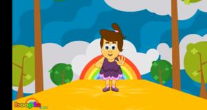 The Hokey Pokey Song | HooplaKïdz Nursery Rhymes & Kïds Songs