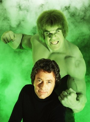 The Incredible Hulk (1978 - 1982) Lou Ferrigno and Bill Bixby