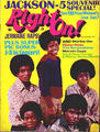 The Jackson 5 On The Cover Of Right On - michael-jackson photo