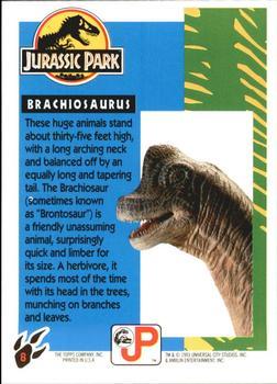 Topps Jurassic Park: Brachiosaurus