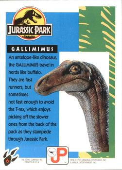 Topps Jurassic Park: Gallimimus