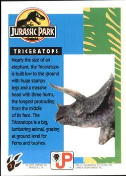 Topps Jurassic Park: Triceratops