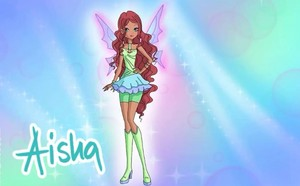 Winx Club Aisha (season 8) charmix