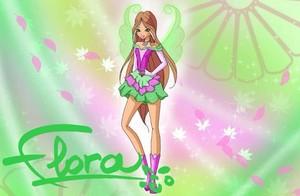 Winx Club Flora (season 8) charmix