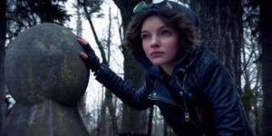 Young Selina Kyle