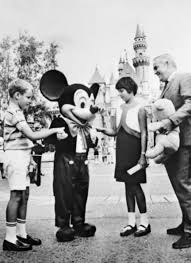 Princess Caroline Visiting Disneyland