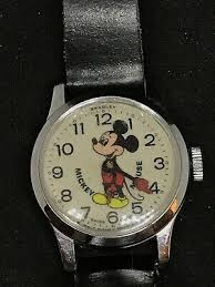 Vintage disney Mickey ratón Wristwatch