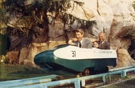 Robert Kennedy Visiting Disneyland