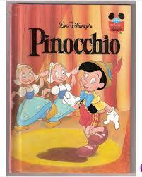 Vintage Дисней Pinnochio Storybook