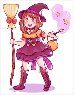 uraraka witch