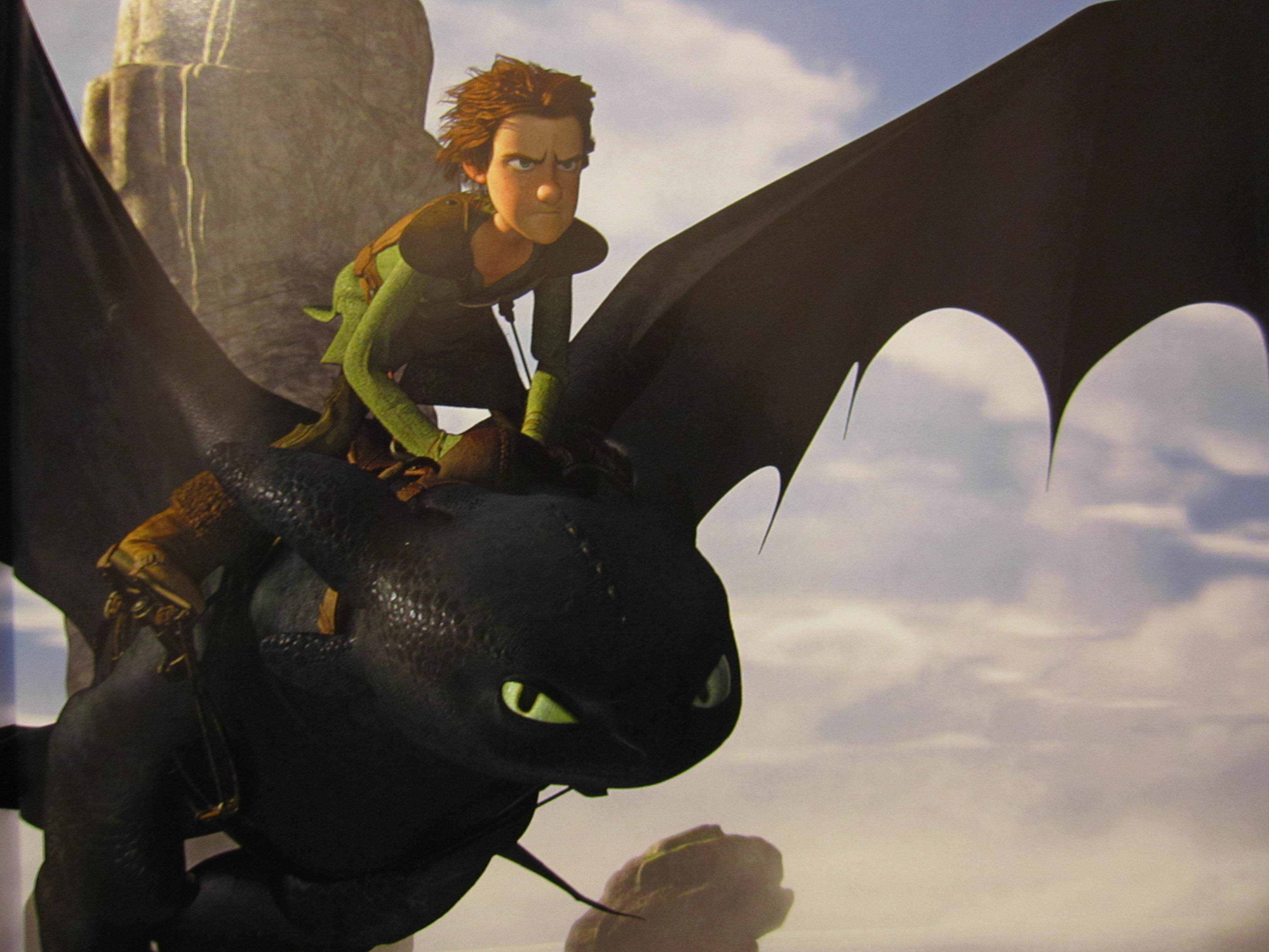 do you think that hiccup is kinda like a dad to toothless