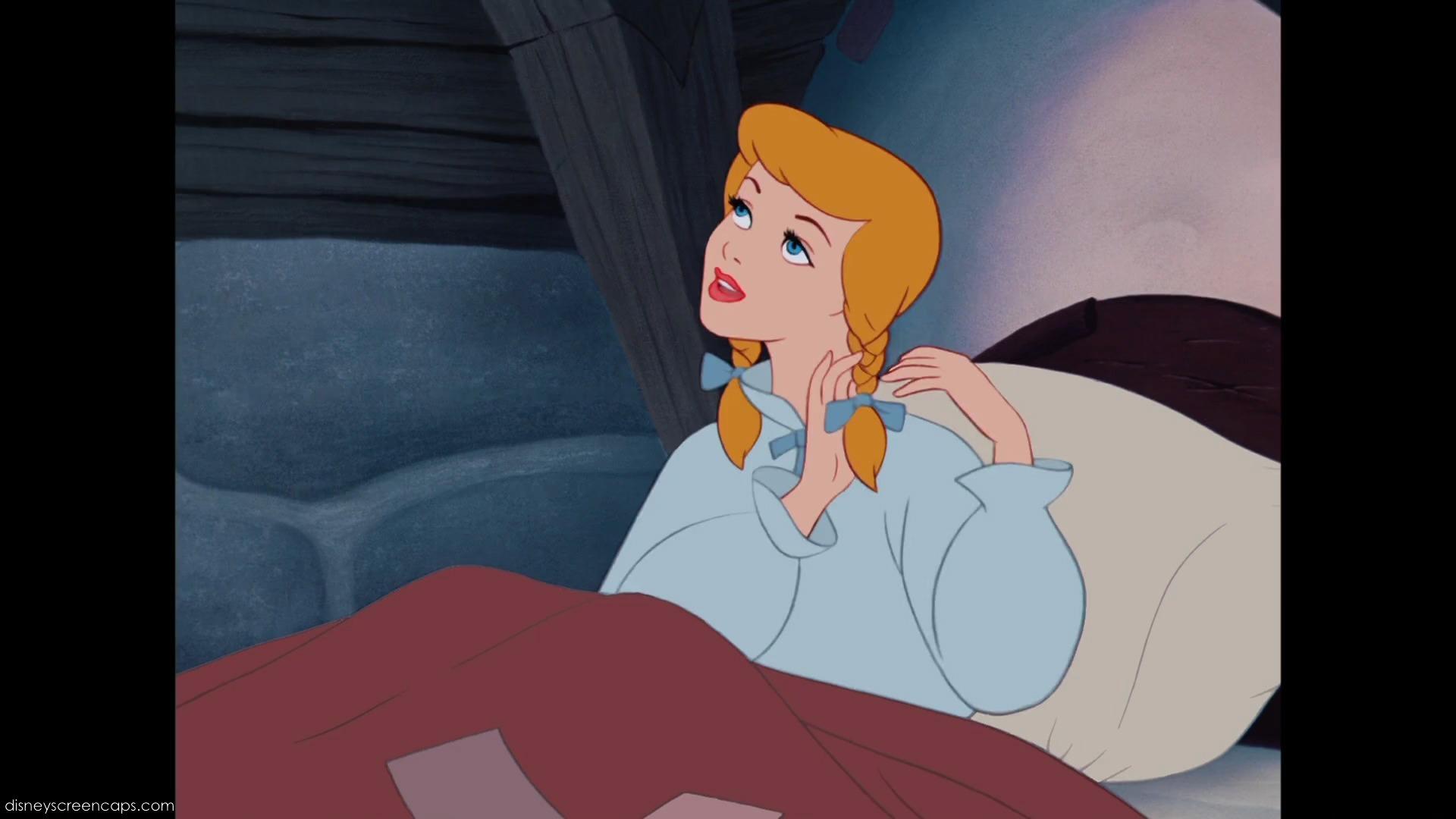 in Braids Like Cinderella