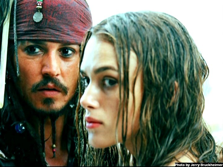 elizabeth swann and jack sparrow relationship