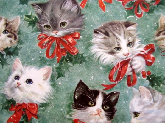 Which is your favourite Vintage Christmas wrapping paper ...