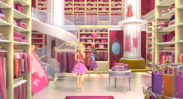 Real barbie dream house closet the for Dream home season 6