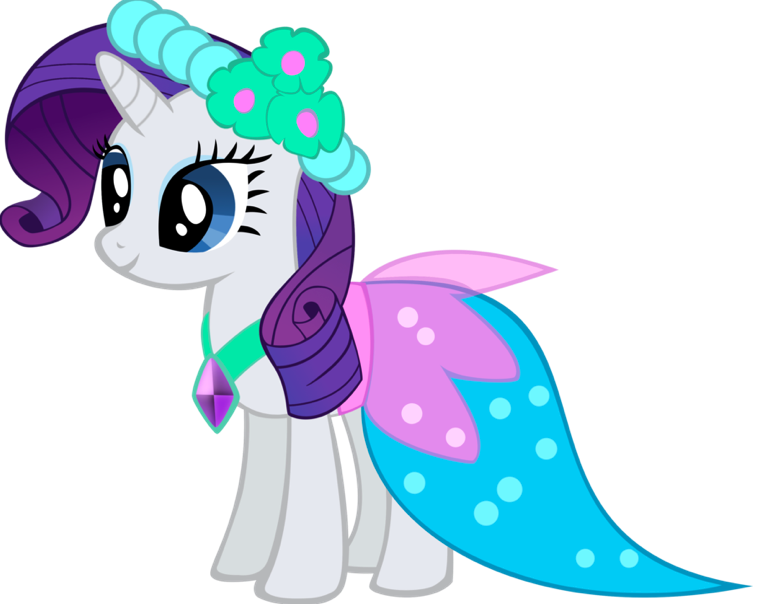 My Little Pony Friendship Is Magic Rarity Gala Dress | www ...