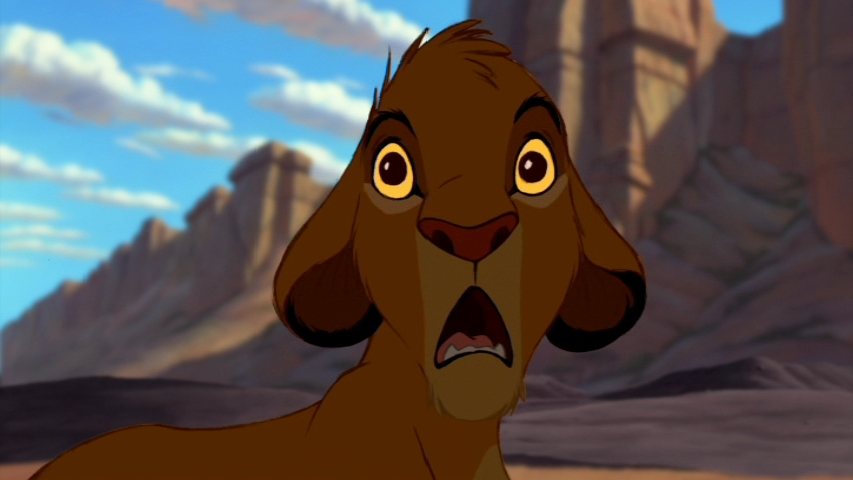 Whose Face Looks More Scared Poll Results The Lion King