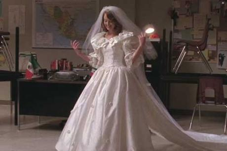 Glee Favorite Wedding Dress