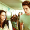 Edward and Bella after their biology lesson.