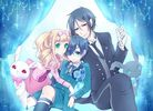 Ciel and Sebastian will just be butler and master, Ciel and Lizzy are bf & gf