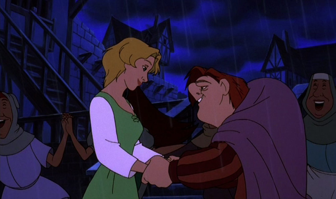 Quasimodo and MadellaineQuasimodo Disney Sad