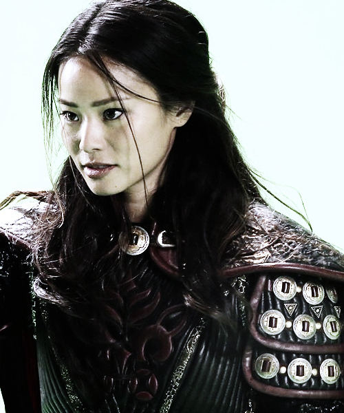 Jamie Chung as mulan
