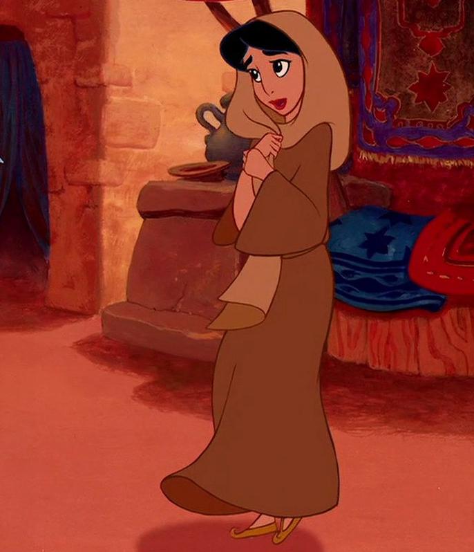 Disney princess potm outfits countdown jasmine february 2013