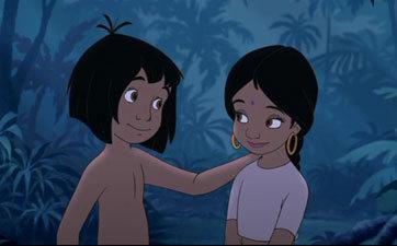 the jungle book mowgli and shanti 2