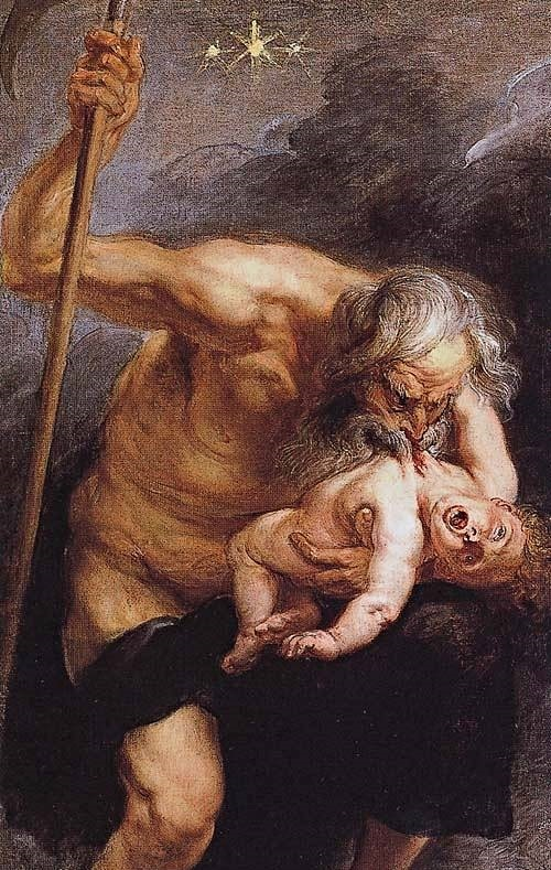 Titan Greek Mythology Drawings
