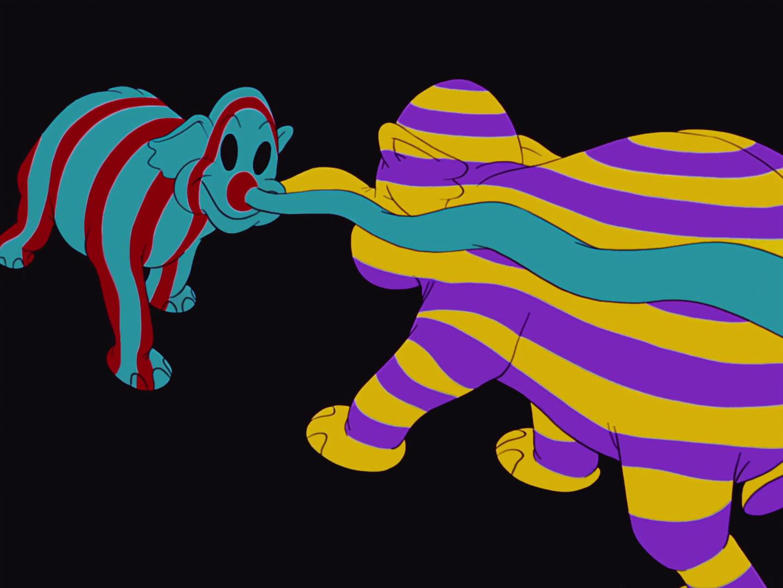 Pink Elephant Heads by GunZcon on DeviantArt