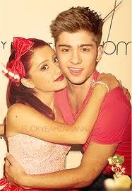 Ariana grande and zayn malik dating