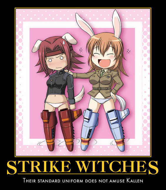 Why aren't they wearing pants? - Strike Witches - fanpop
