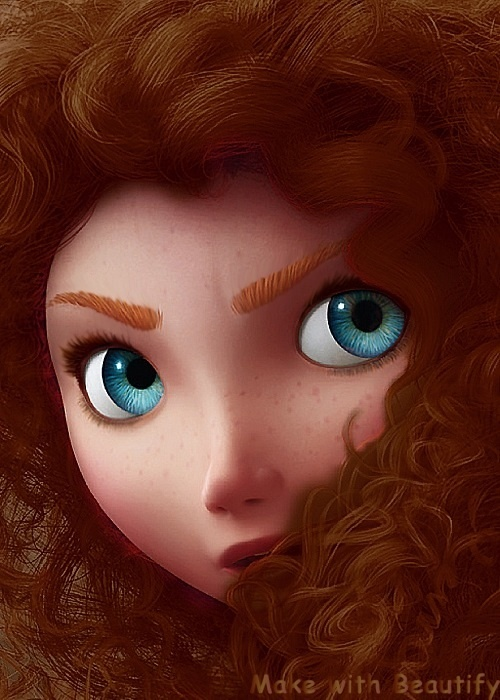 I changed Merida's hair color: Which is the best? Poll ...