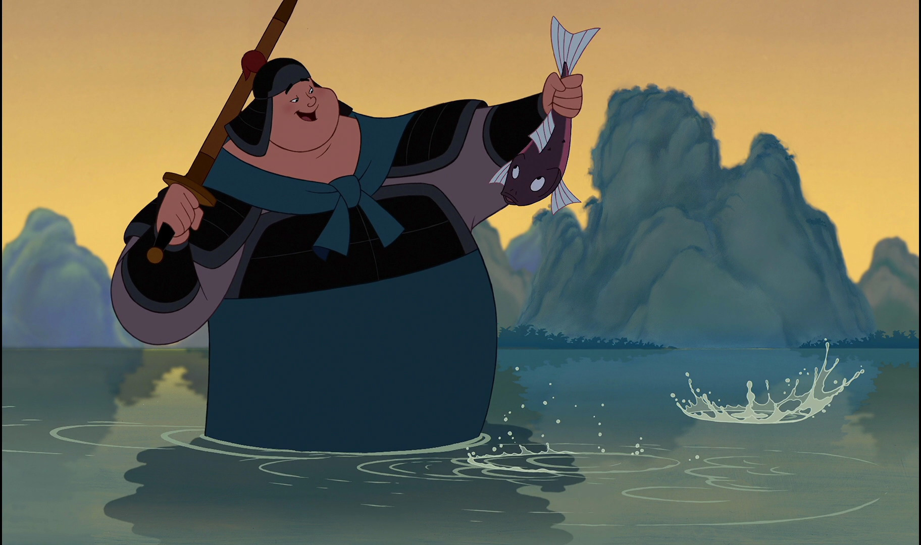 Favorite Mulan characters countdown - Day 16: Pick your