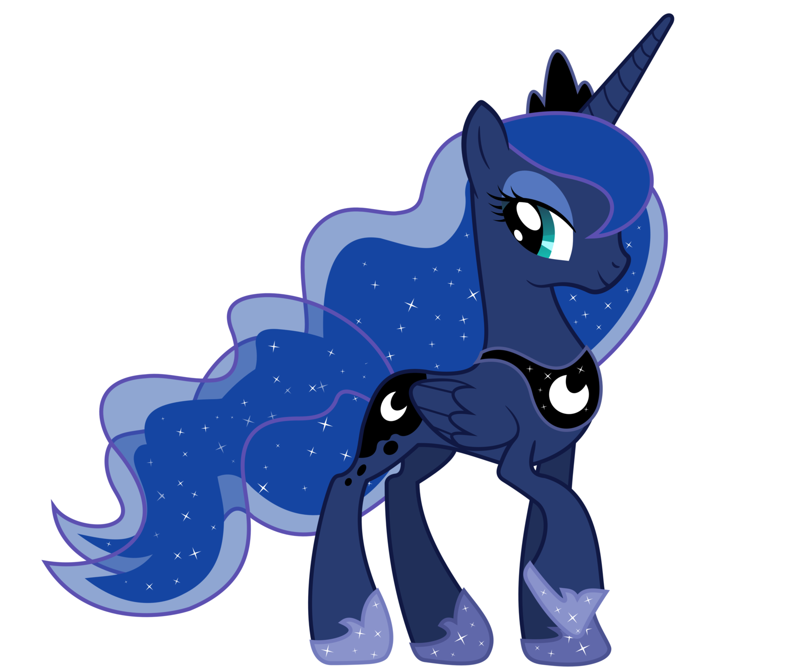 My little pony luna and nightmare moon - photo#7