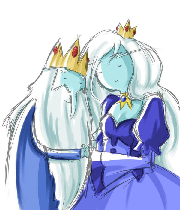 Crossovers King And Queen: If Ice King Could Be With A Girl Which One Would You Like