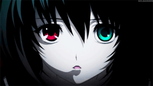 Anime Eyes Color in Different Color Eyes