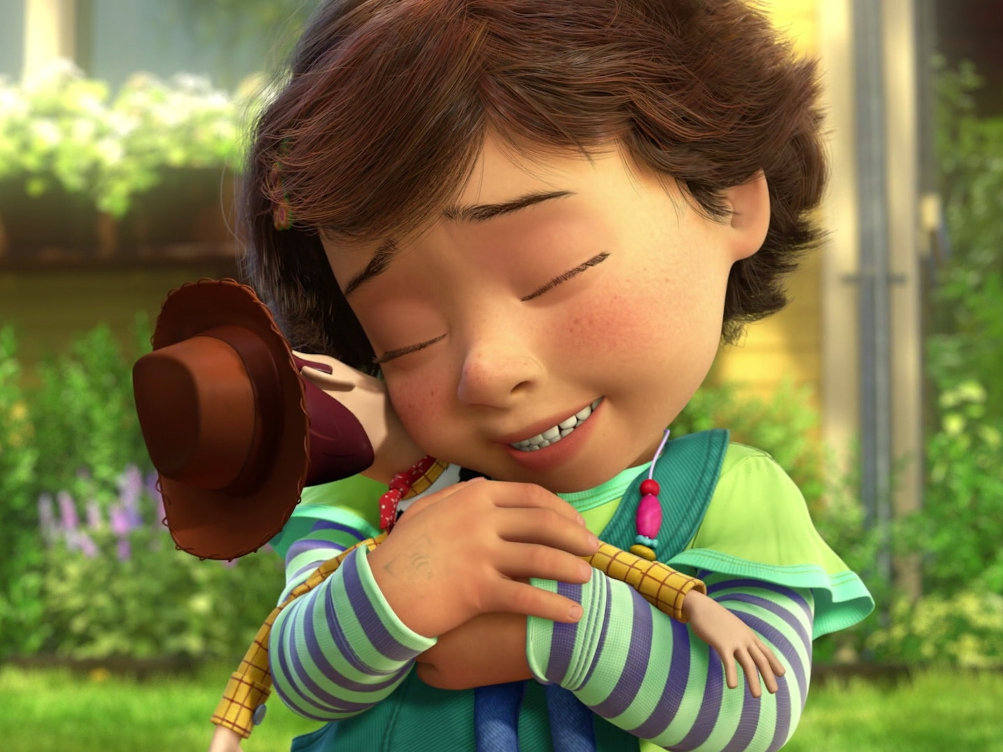 If Bonnie (Toy Story 3) was a Young Heroine of Disney ...