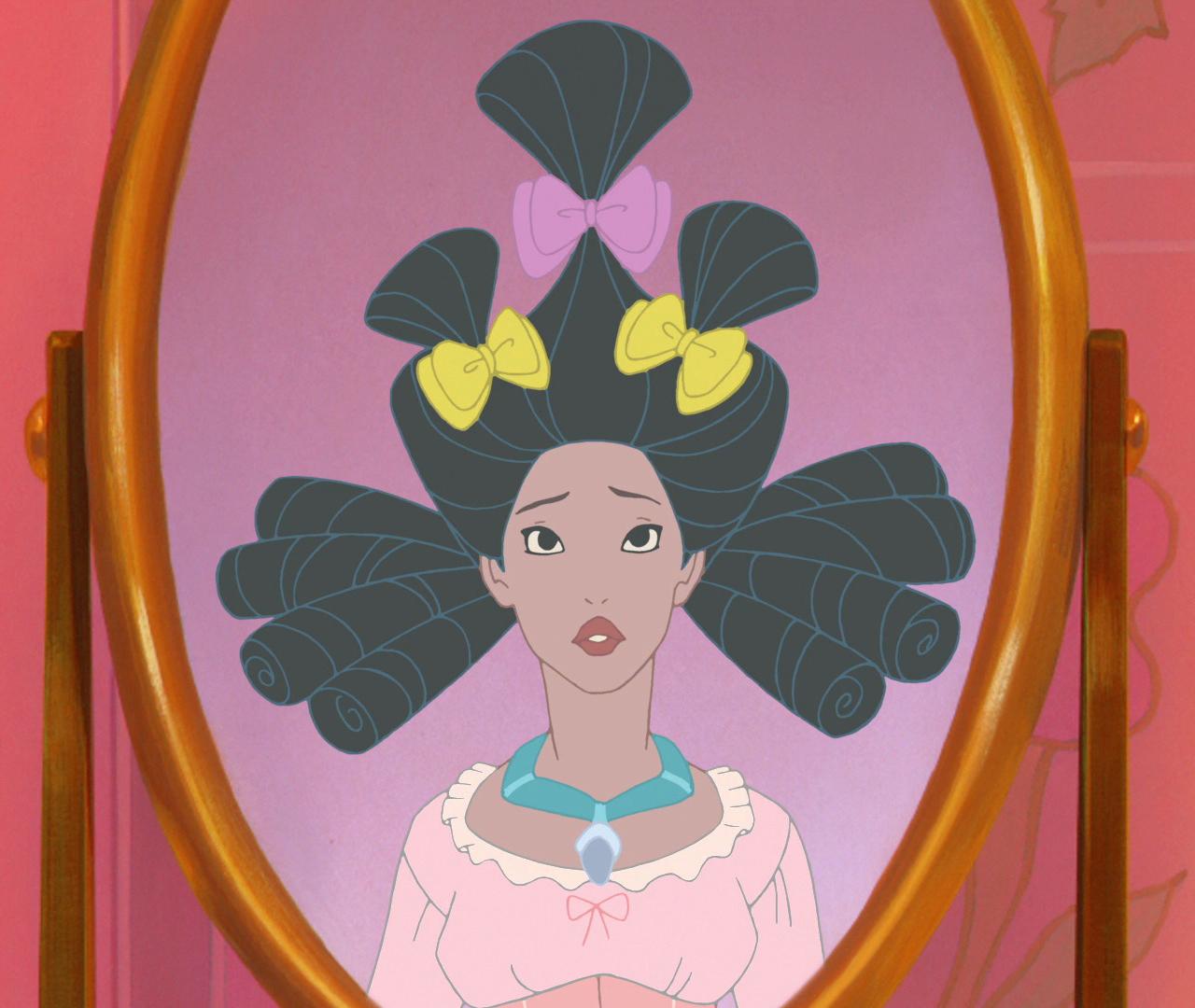 Potm Hairstyles Countdown Pocahontas May 2013 Pick