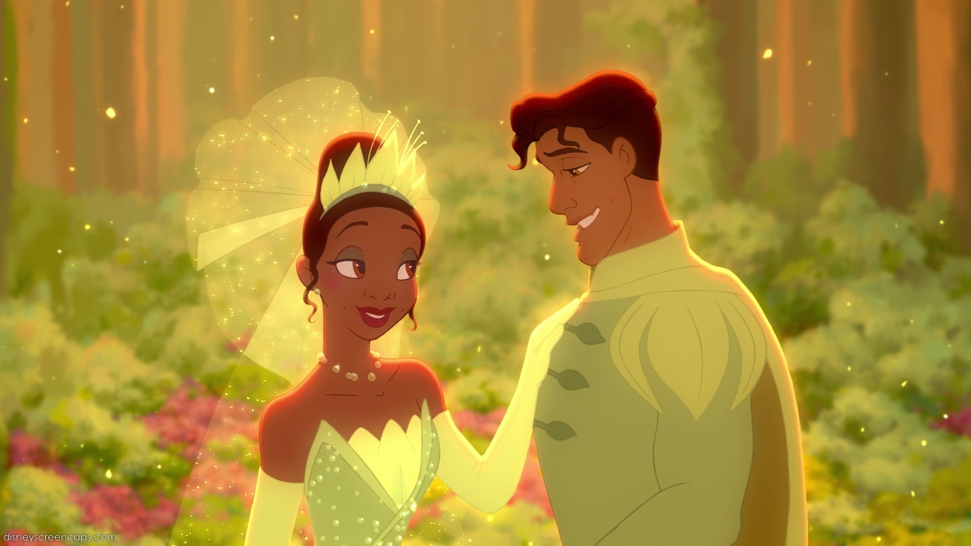 The Princess And The Frog Wedding Scene