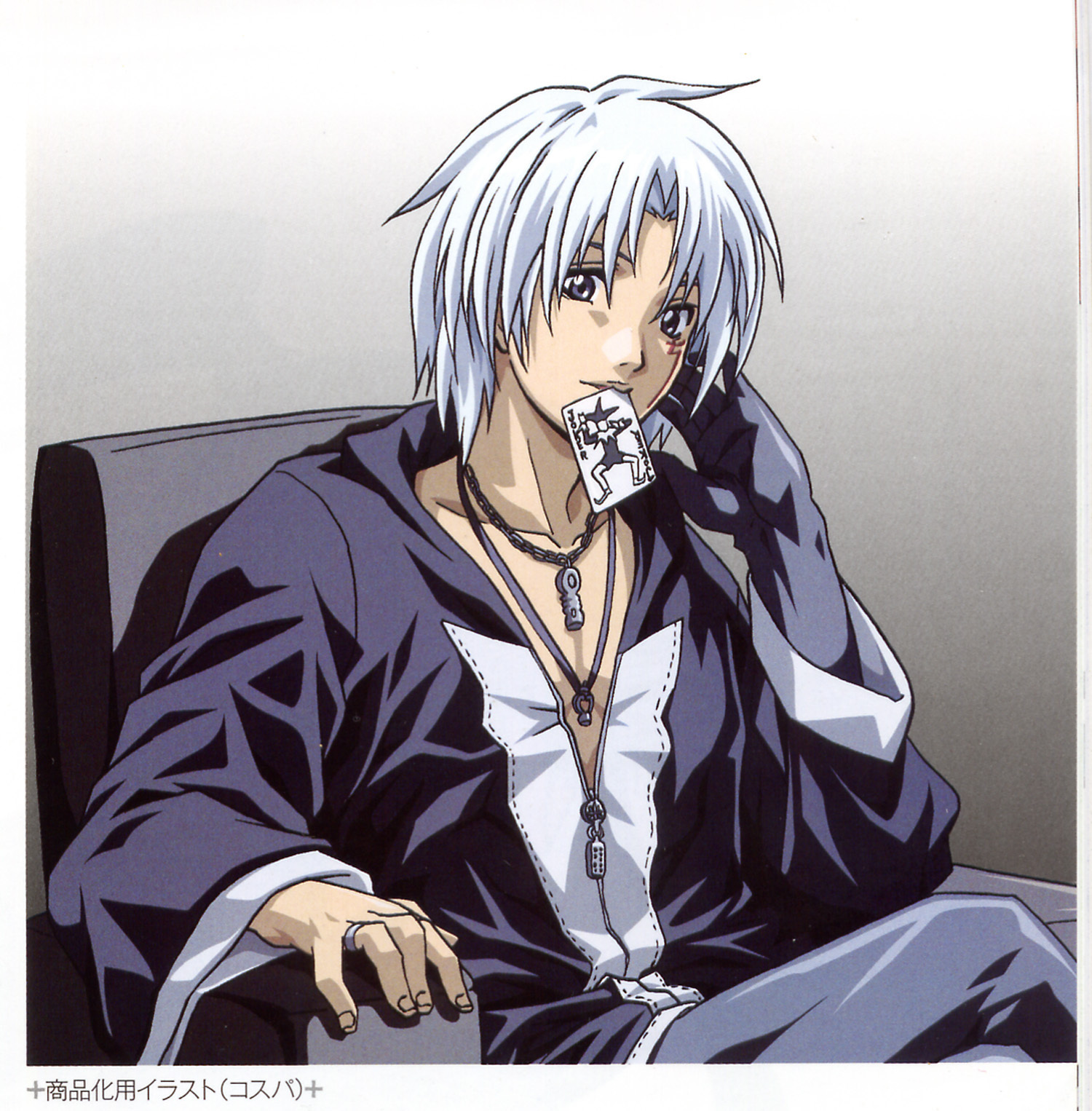 Anime Characters Grey Hair : Which of these white silver haired anime characters do you
