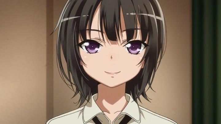 Does Yozora Look Better With Short Hair O Long Hair Anime Kawaii