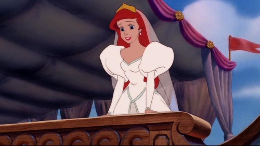 Do you think Ariel\'s wedding dress was based off Princess Diana\'s ...