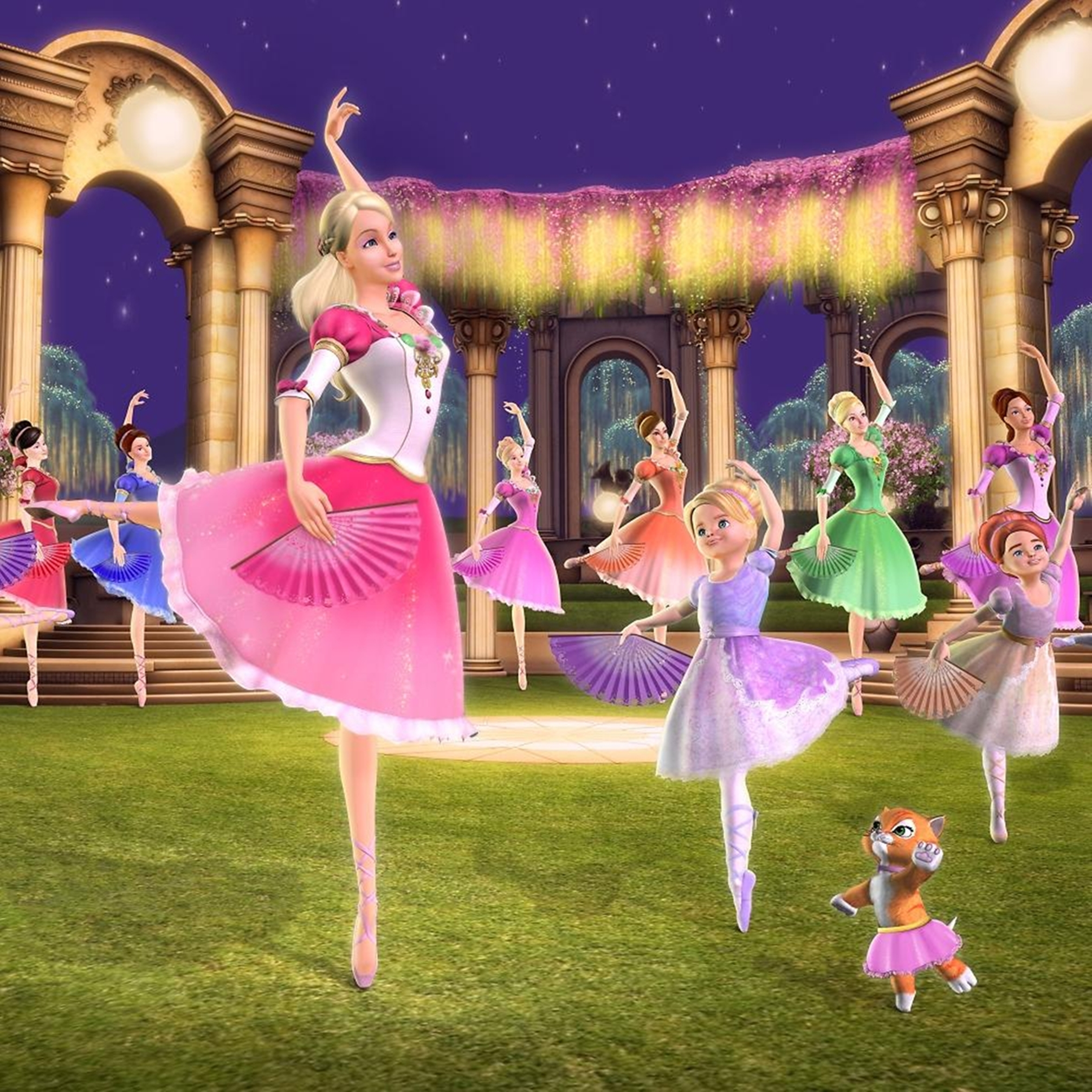 Which barbie movie is the best 2001 2007 poll results barbie movies fanpop - Barbie and the 12 princesses ...