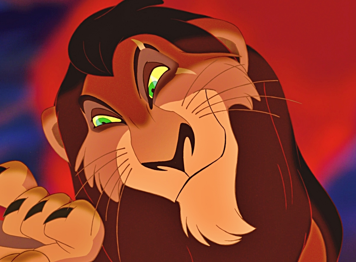Lion king characters scar - photo#14