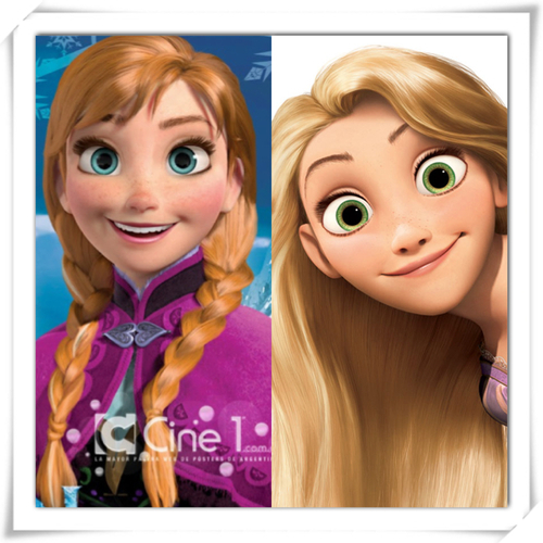does annafrozen and rapunzeltangled look alike poll