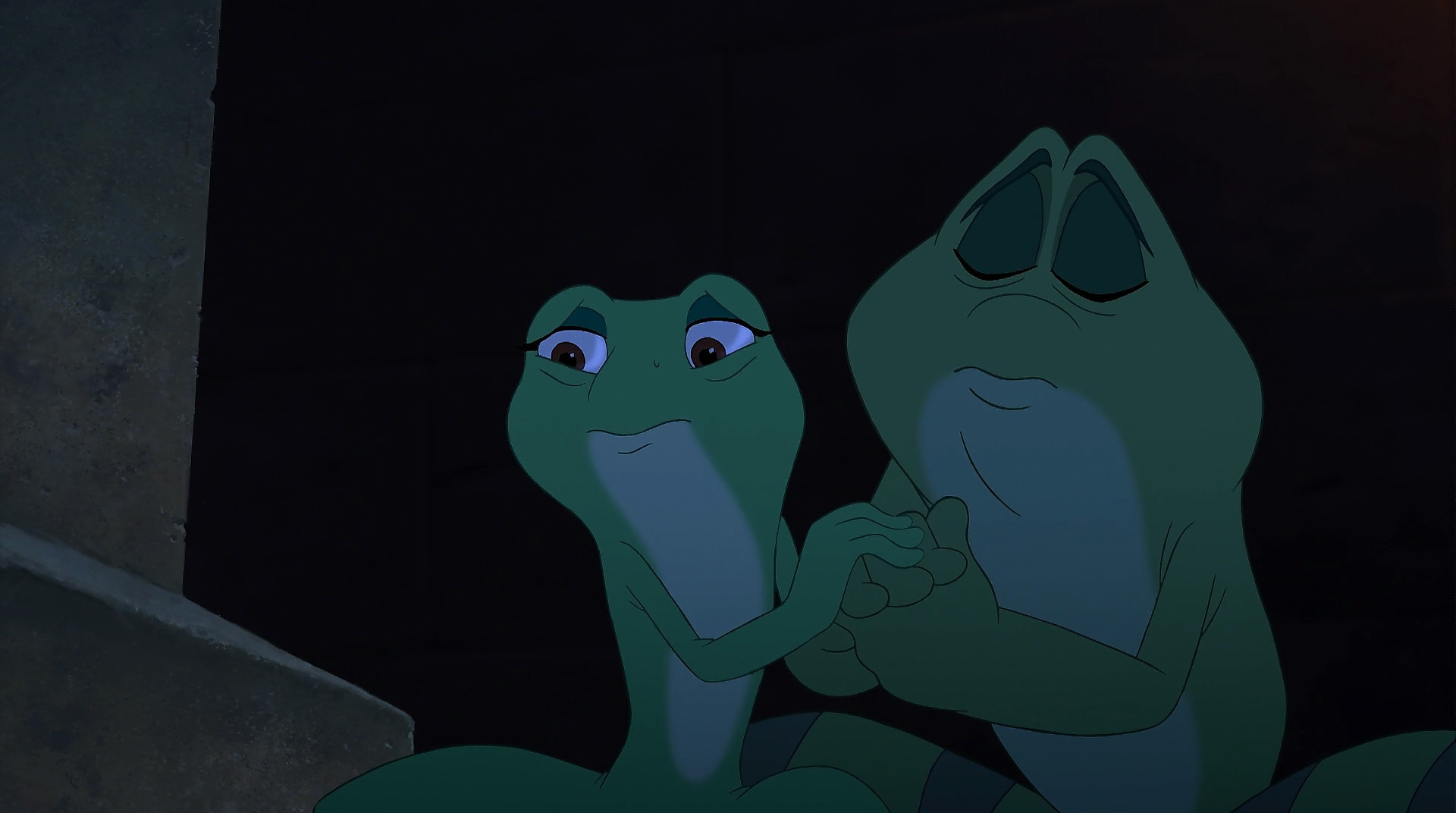 Princess and the frog tianas friend