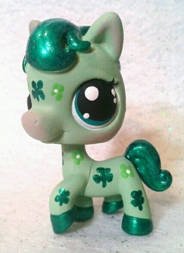 littlest pet shop st patricks day lps customs which is your favorite