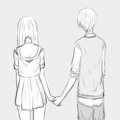 Which Couple Picture Do You Think Is More Kawaii In Black