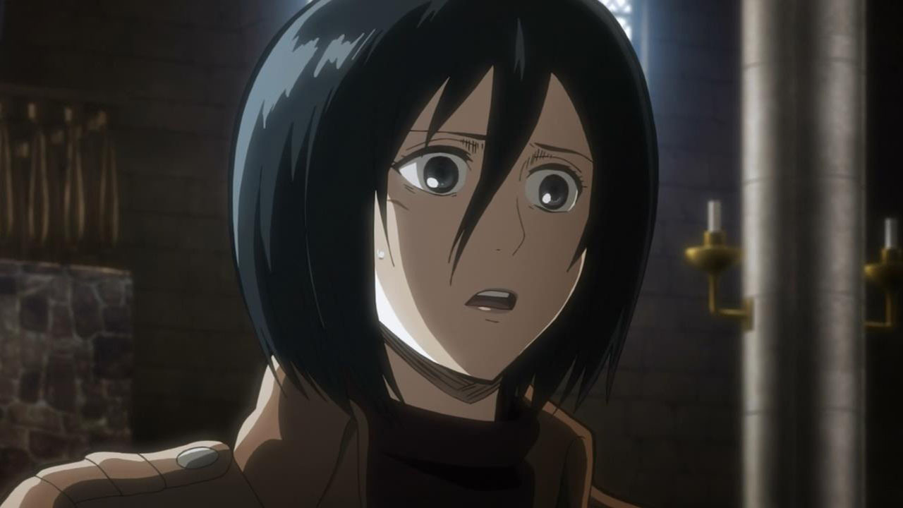 Mikasa Ackerman Child Long haired or short h...